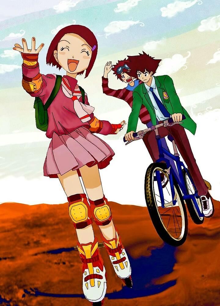 Digimon adventure always by Sikicool