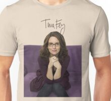 Tina Fey photo + Signature Unisex T-Shirt