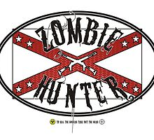 Zombie Hunter flag by puppaluppa