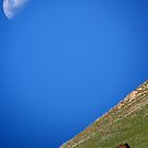 KYRGYZSTAN - Moon over Tash Rabat by Brad Spencer