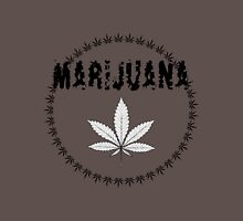 X-Rays. Cannabis Leaf and word Marijuana Unisex T-Shirt