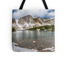 Medicine Bow Lake View Tote Bag