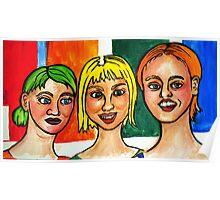 3 Strange Girls  Poster