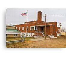 Garfield County (Montana) Court House Canvas Print