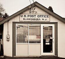 Blawenburg Post Office by Sheil Naik