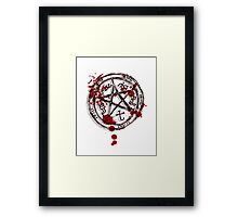 devil's trap Framed Print