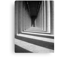 Colonnade Canvas Print
