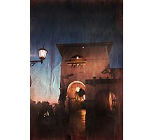 The Night Rolls In Photographic Print