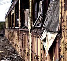 Urban Decay - Train 2 by Edward Myers