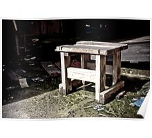 Urban Decay - Stool Poster