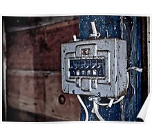 Urban Decay - Electric Box Poster
