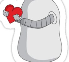 Robots Want To Be Loved By You Sticker