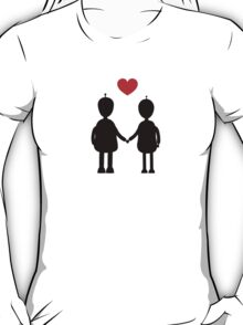 Robots in Love T-Shirt