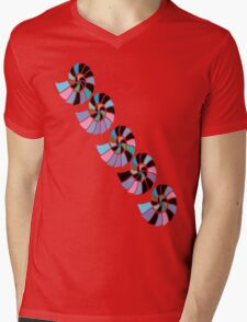 Happy Sea Shell T Shirt Mens V-Neck T-Shirt