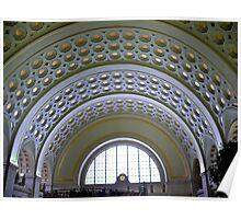 Washington DC - Union Station - Series - Vaulted Ceilings  *framed print sold Poster