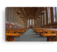 Suzzallo Library (University of Washington) (NON HDR version) Canvas Print