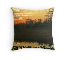 Sunset in Palm Beach Gardens, FL Throw Pillow