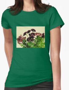 Burgundy Petals T-Shirt