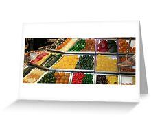 glazed fruit  Greeting Card