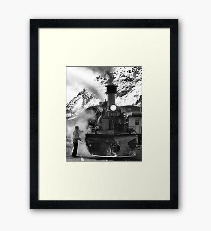 Venting Engine 473 Framed Print