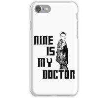 nine is my doctor iPhone Case/Skin