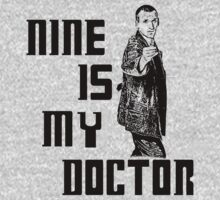 nine is my doctor One Piece - Short Sleeve