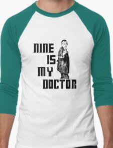 nine is my doctor Men's Baseball ¾ T-Shirt