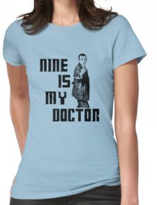 nine is my doctor Womens Fitted T-Shirt
