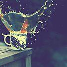 Coffee Splash No. 2 by Sid Black