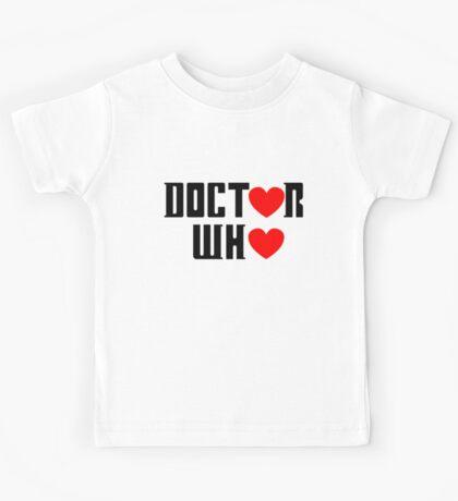 doctor who Kids Tee