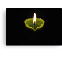 Earth Hour  Canvas Print