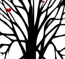 Love Birds Tree T Shirt Sticker
