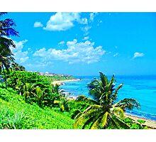 Old San Juan Coast Photographic Print