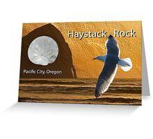 Card : Haystack Rock - Pacific City Greeting Card
