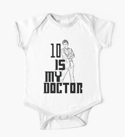 ten is my doctor One Piece - Short Sleeve