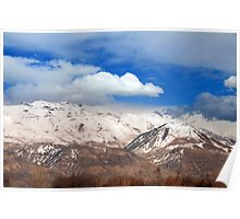 Mount Timpanogos - Early Spring Poster