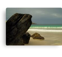 Spiggie Beach Canvas Print