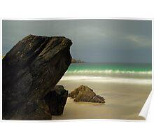 Spiggie Beach Poster