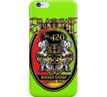 Smoke No. 420 iPhone Case/Skin