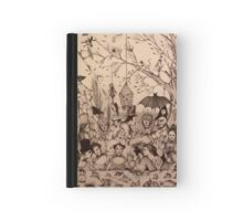 """We are pleased to make your acquaintance!"" Hardcover Journal"