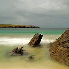 Spiggie Beach Again by Gary Buchan