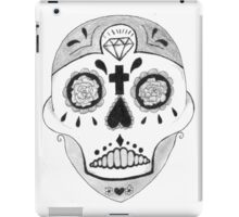 skull - drawing iPad Case/Skin