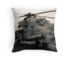 The Cold War Revisited Throw Pillow
