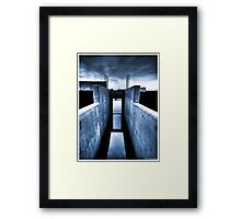 Death to abandoned #8 Framed Print