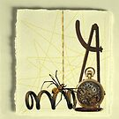 Mechanically spun by Susan Ringler