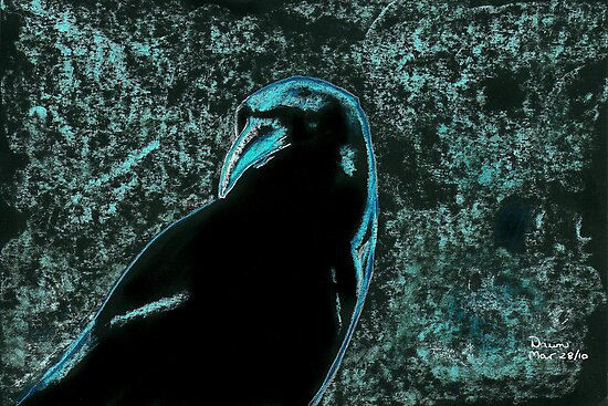 Night Crow by Dawn B Davies-McIninch