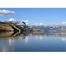 Jasper Lake, Jasper NP, Alberta, Canada Photographic Print