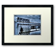 Death to abandoned #10 Framed Print