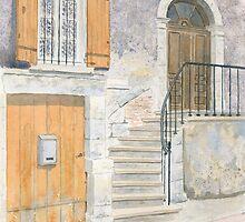 Doorway, Issigeac, France by ian osborne
