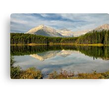 Herbert Lake, Banff NP Canvas Print